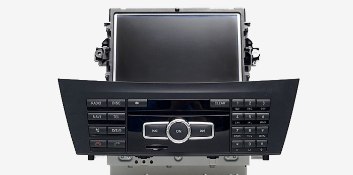 Comand APS NTG 4.5 для Мерседес C-класса W204 restyle