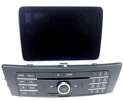 Comand APS NTG 5.1/5s1 на Мерседес GLE-class W166