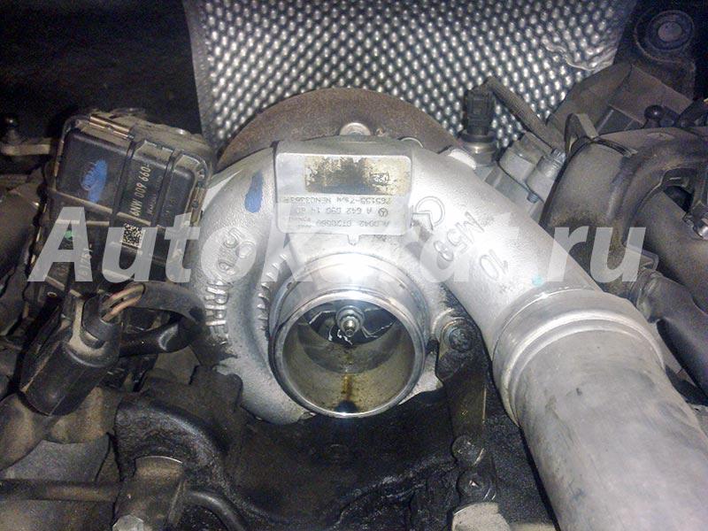 мерседес 642 двигатель дренаж турбины