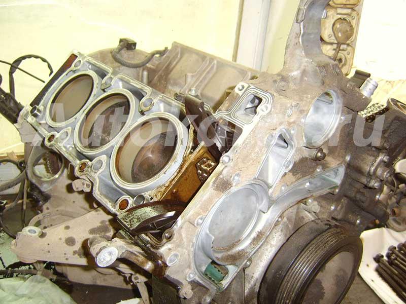 Ремонт двигателя Мерседес M112